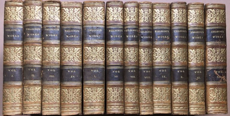 The Works Of Henry Fielding With A Life Of The Author, 12 volumes complete. Henry Fielding.