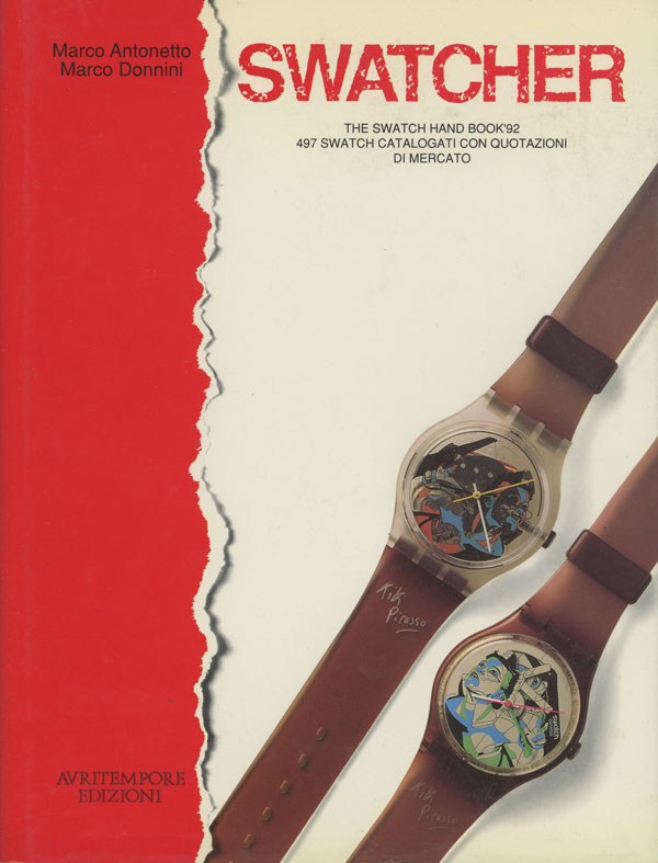 Swatcher; The Swatch Hand Book '92; 497 Swatch Catalogati con...