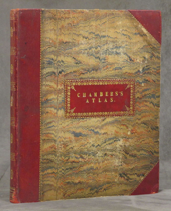Chambers's Atlas for the People, Accompanied by a Descriptive Introduction. William Chambers, Robert Chambers, W., R. Chambers, W.