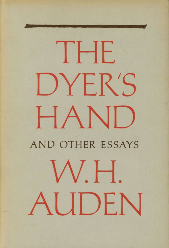 dyer essay hand other Browse and read dyers hand and other essays dyers hand and other essays bring home now the book enpdfd dyers hand and other essays to be your sources when going to read.