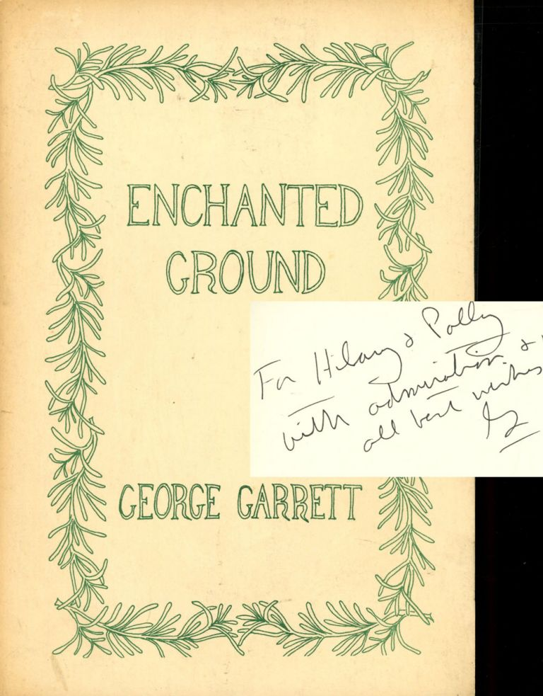 Enchanted Ground: A Play for Readers' Theater. George Garrett.