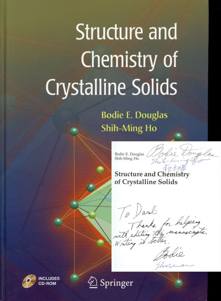 Structure and Chemistry of Crystalline Solids. Bodie E. Douglas, Shih-Ming Ho.