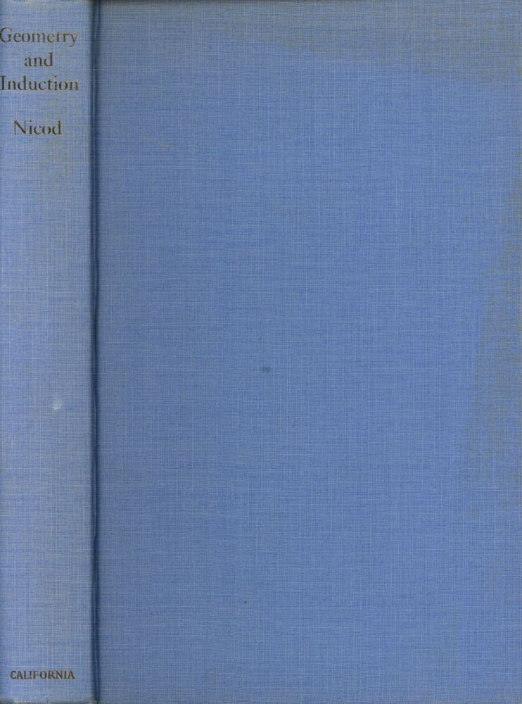 Geometry and Induction: Containing Geometry in the Sensible World and...