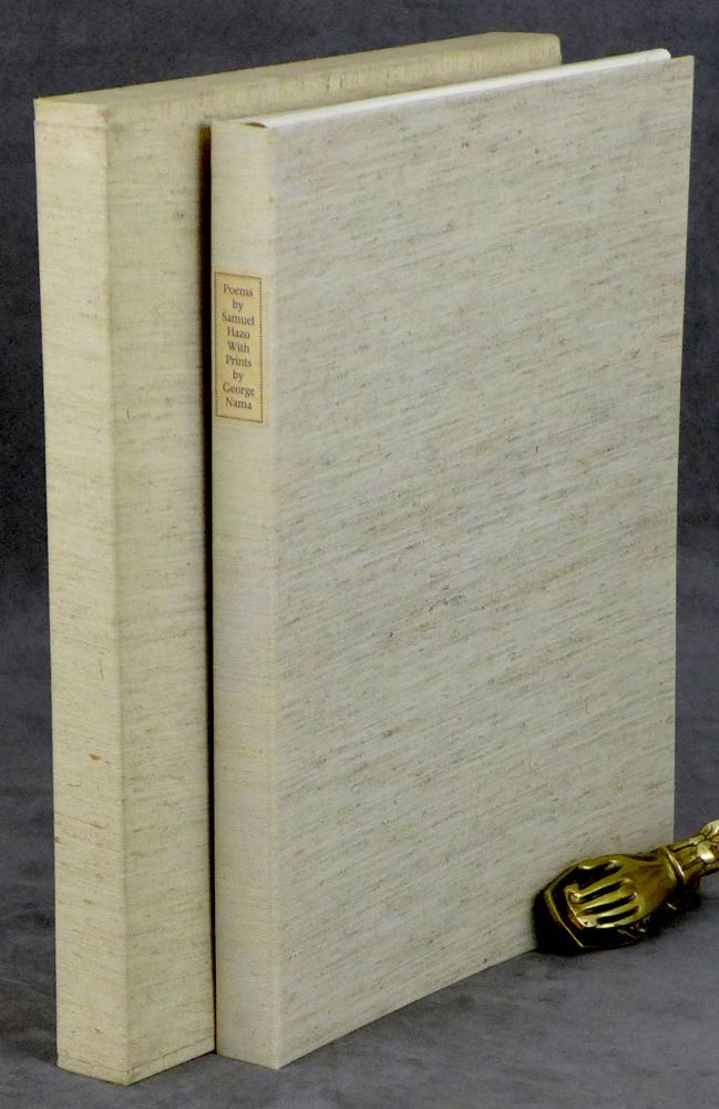 Twelve / 12 Poems by Samuel Hazo, With Prints by George Nama. Samuel Hazo, George Nama.