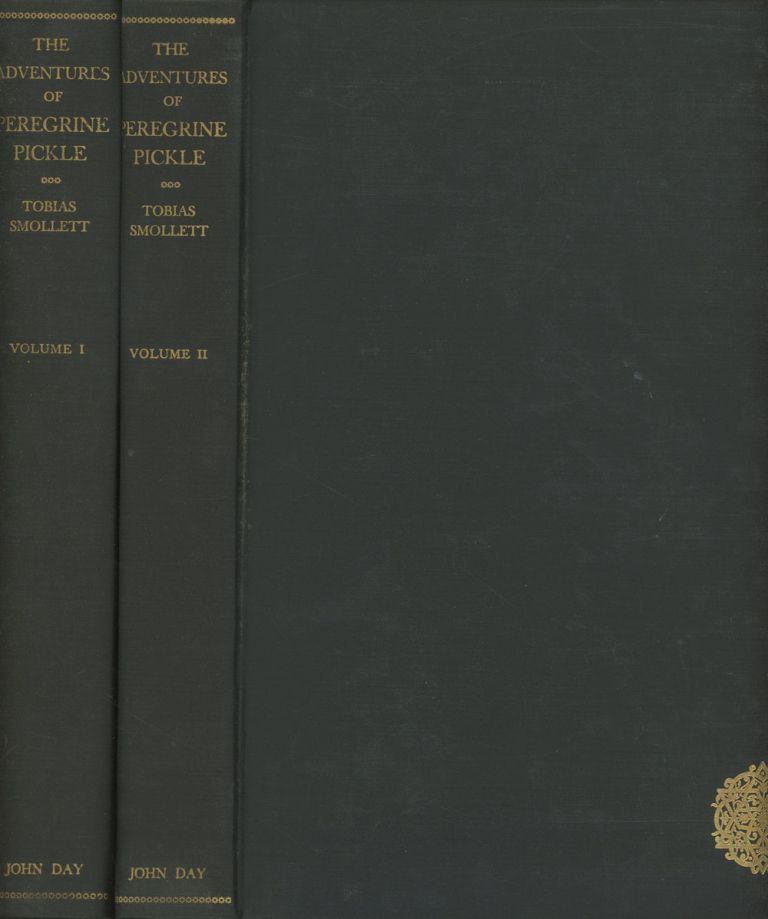 The Adventures of Peregrine Pickle, 2 vols.--Volume I & Volume II; Newly Printed from the Text of the Second Edition as Revised by the Author in two volumes. Tobias Smollett, ill Alexander King.