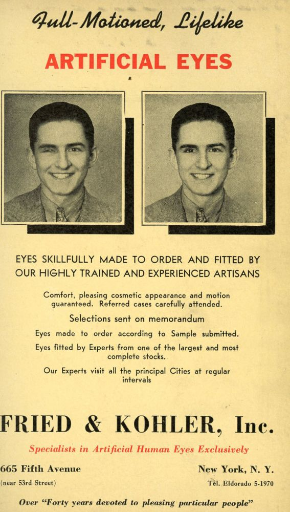 The Blue Book of Optometrists, 1944, A Register of Legally Qualified Optometrists of the United States, Alaska, Cuba, Hawaii, Canal Zone, Porto Rico (Puerto Rico), Canada and Newfoudland, Arranged by States and Provinces. Optometry Medicine, Directory, Eyes.