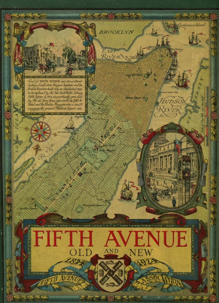 Fifth Avenue, Old and New 1824-1924. Henry Collins Brown.