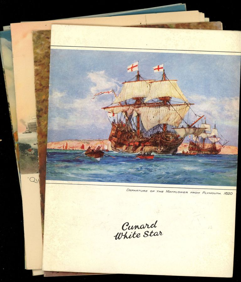 Lot of Menus, Passenger List, Cruise Periodical, and Other Items from a Cruise Aboard the Cunard-White Star M.V. Georgic to the West Indies, 1936. Cunard-White Star.