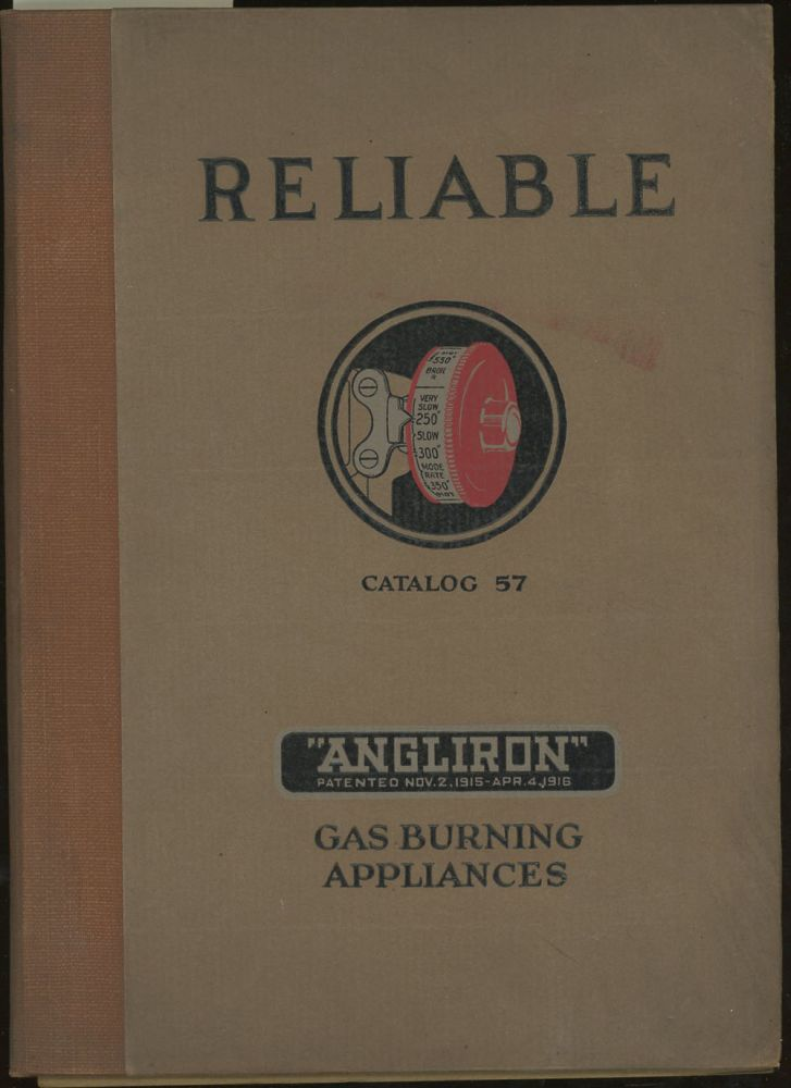 Reliable Gas Burning Appliances, Catalog 57