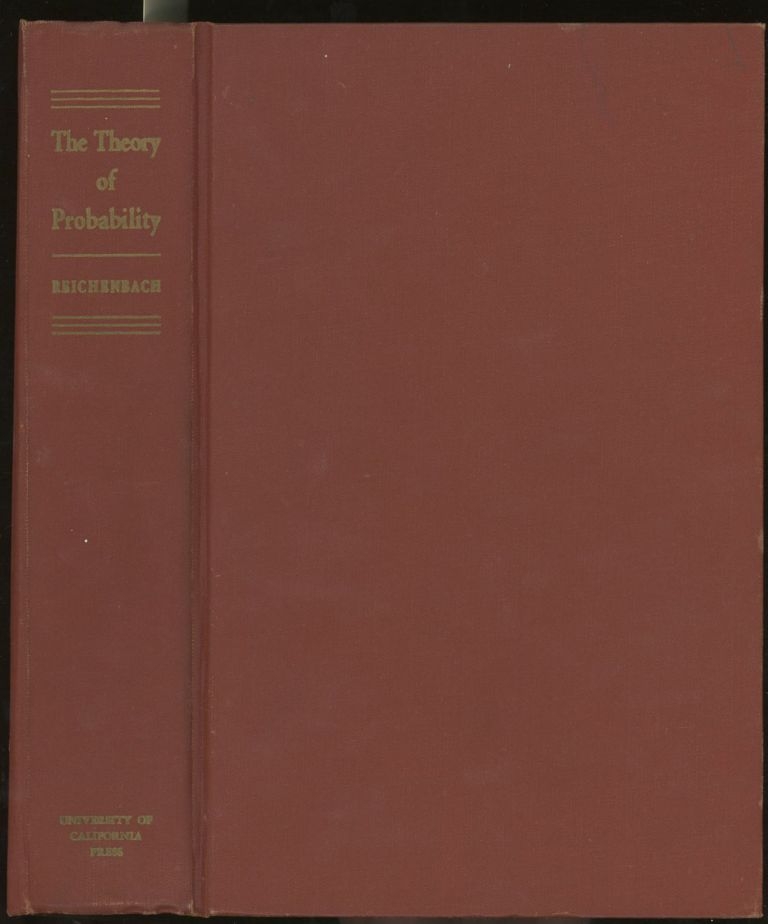The Theory of Probability, An Inquiry into the Logical and...