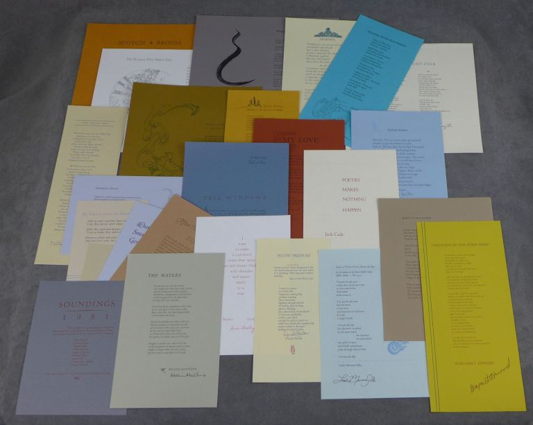Soundings, 1981, SIGNED by Almost All of the Poets, Including...