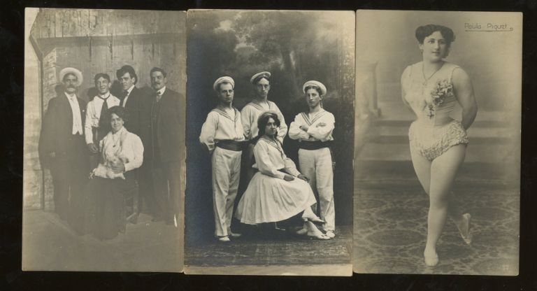 16 Circus and Troupe Postcards. Troupe Circus, Photography, Postcard, Entertainment.