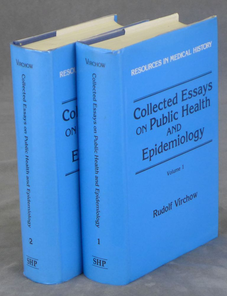 Collected Essays on Public Health & Epidemiology, Complete in Two...