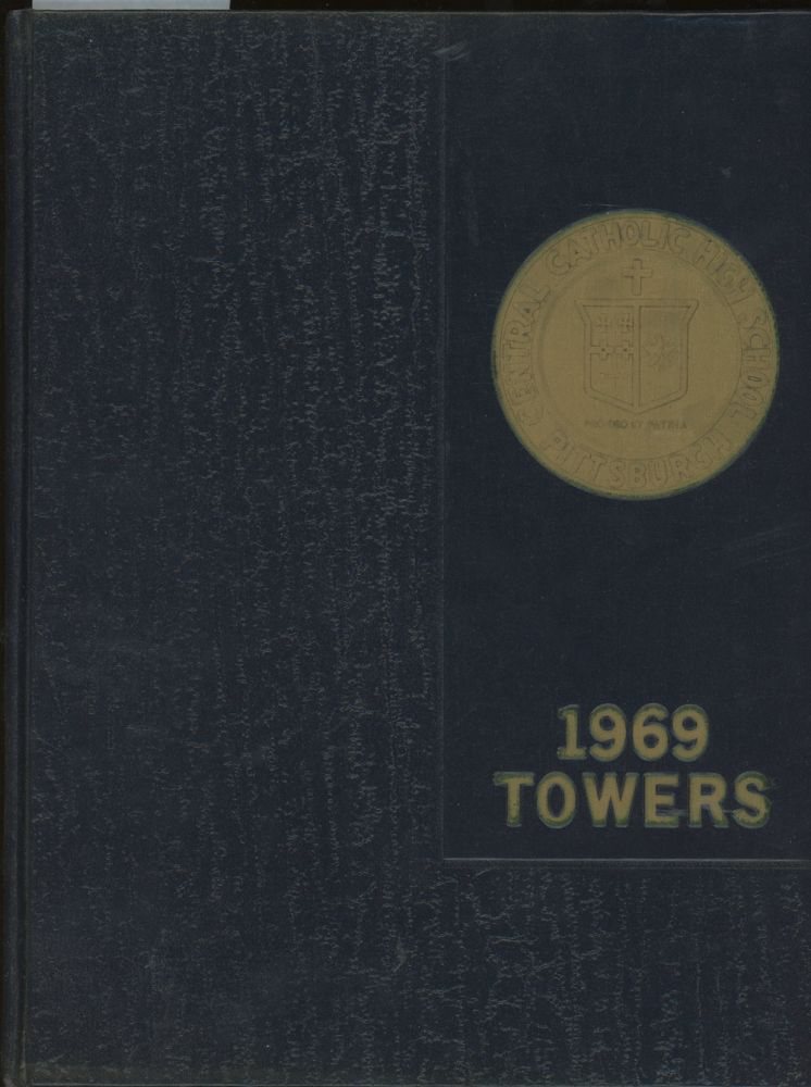 Towers, Central Catholic High School Yearbook, 1969. Central Catholic High School.