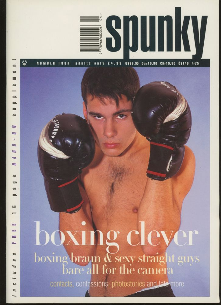 Spunky, Number Four, Boxing Issue 1998. Bjorn Anderson.