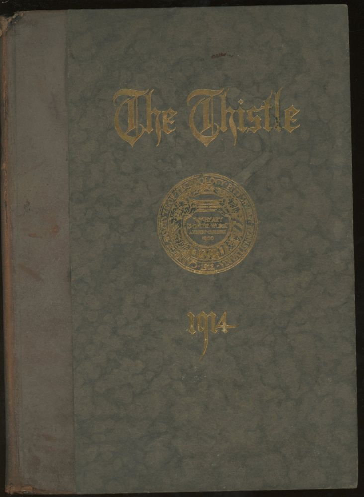 The Thistle, 1913-1914, Yearbook For Carnegie Institute of Technology. Carnegie Institute of Technology.