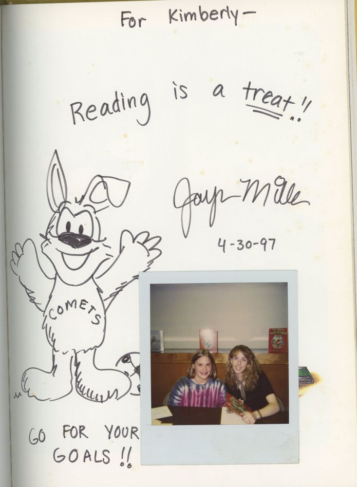 Too Much Trick or Treat, INSCRIBED With Doodle By Jayna Miller. Jayna Miller.