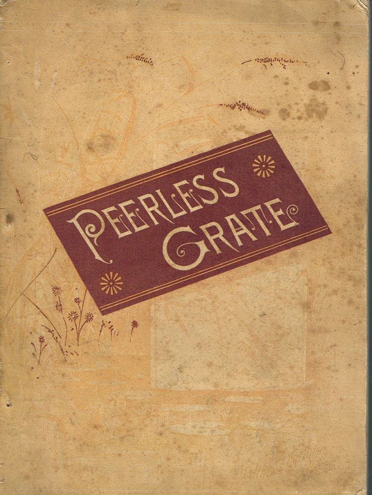 Illustrated Catalogue of the Peerless Shaking and Dumping Grate. Bissell, Co.