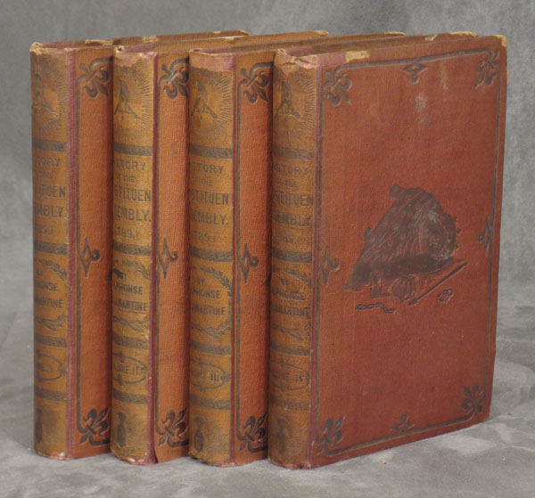 History of the Constituent Assembly (1789), complete in 4 volumes
