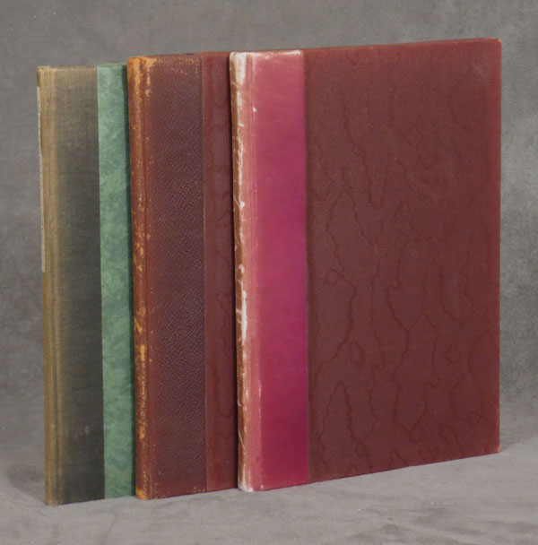 The Laboratory, Volumes 1-3 (1928-1930 newsletters from Fisher Scientific). 3 volumes. Fisher Scientific.