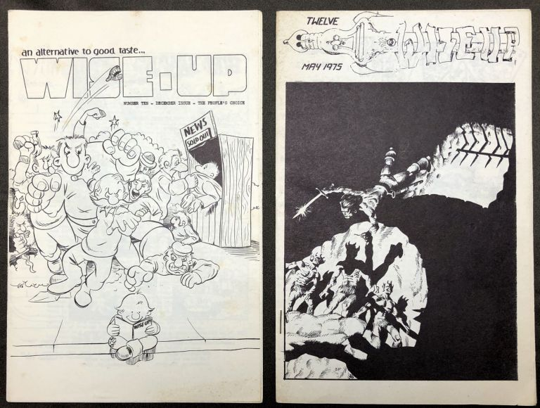 Two Issues of Wise Up, Including Numbers 10 (December 1974) and 12 (May 1975)