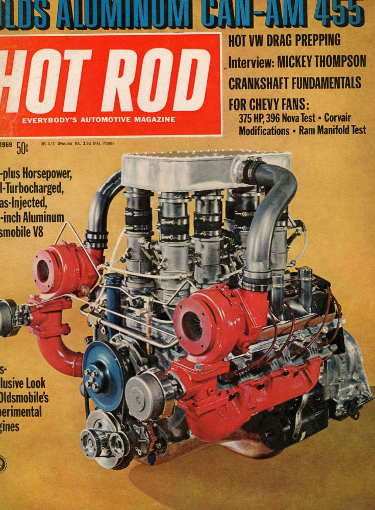 Twenty Eight Issues of Hot Rod Magazine from the 60s and 70s. Ray Brock.