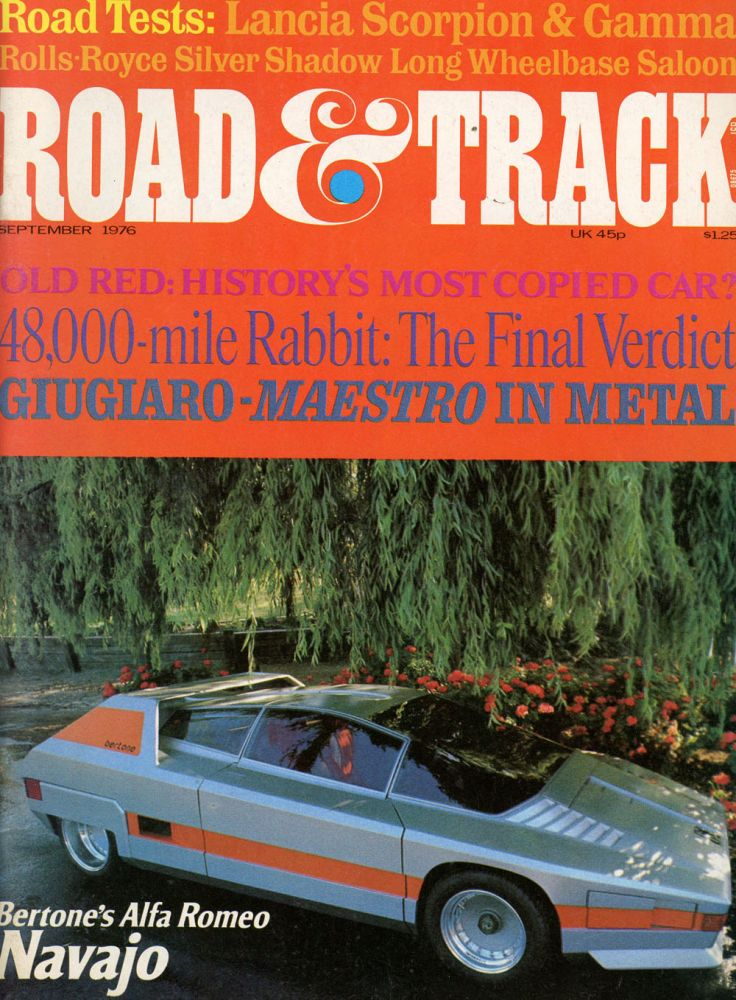 Five Car Racing Magazines Including Three Issues Of Road