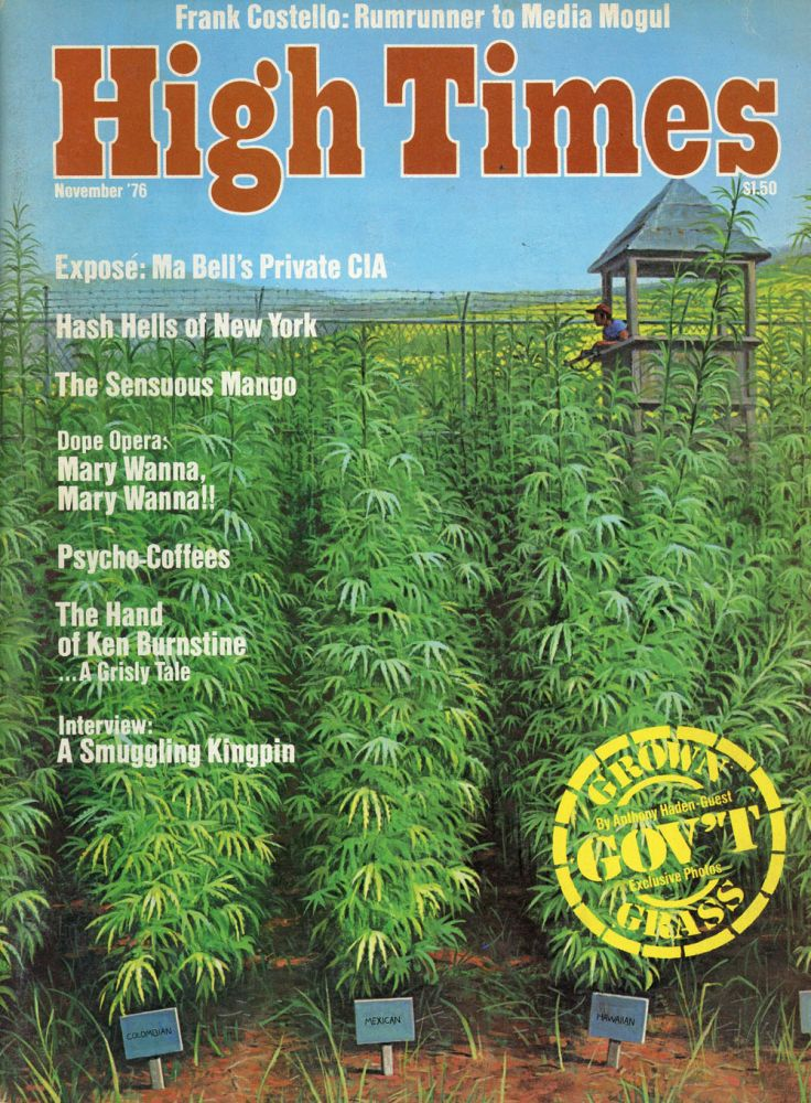 Eleven Issues of High Times Magazine from 1976-1980. Andrew Kowal, Richard Ashley Leslie Morrison, 22.
