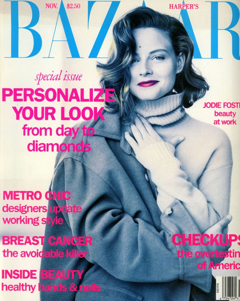 Seven Issues of Harper's Bazaar from 1991, Including February, March, April, May, June, July, and November. Anthony Mazzola.
