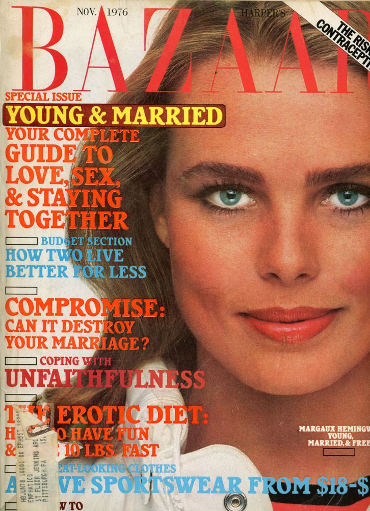 Three Issues of Harper's Bazaar, Including December 1975, March and November 1976. Anthony T. Mazzola.