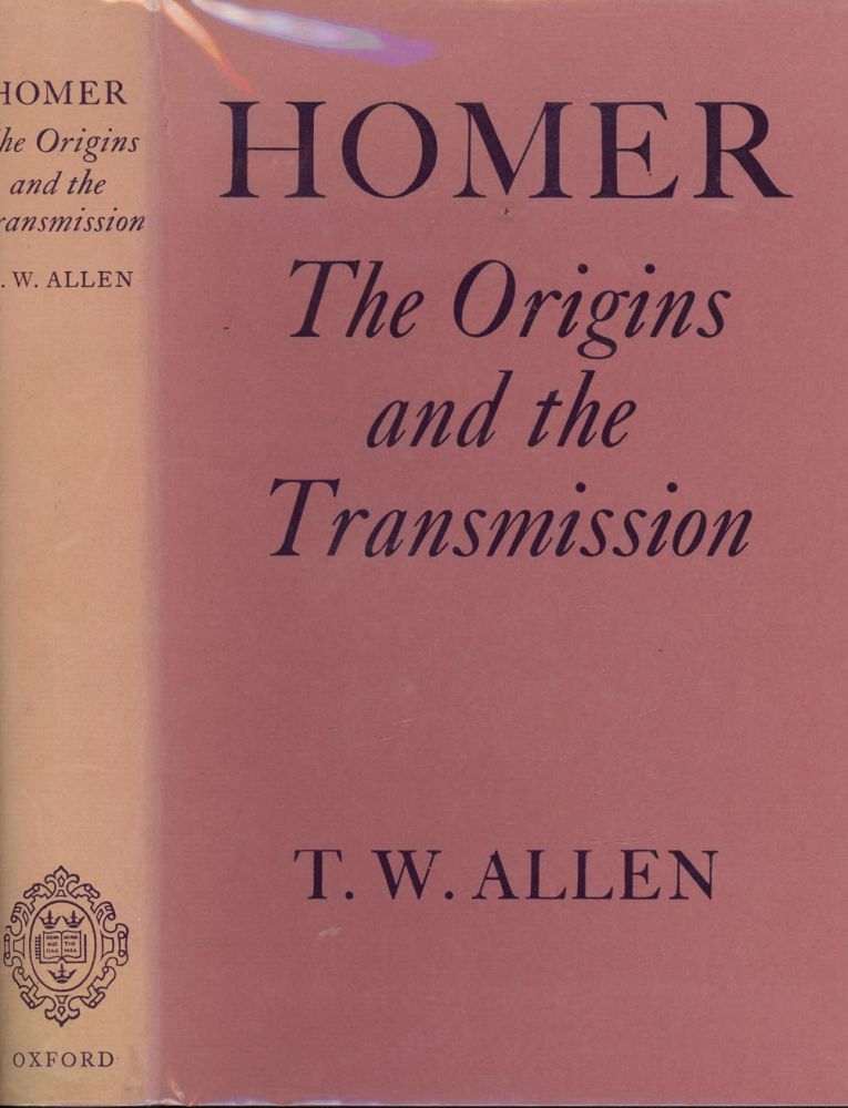Homer, The Origins and the Transmission