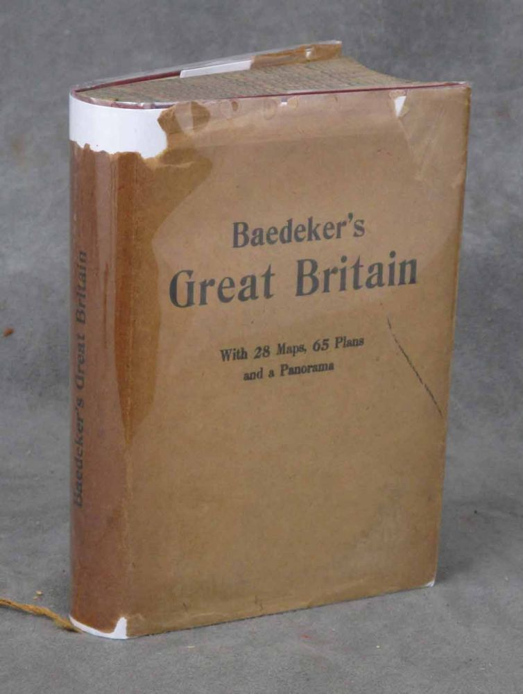 Great Britain, Handbook for Travellers, Seventh Edition. Karl Baedeker.