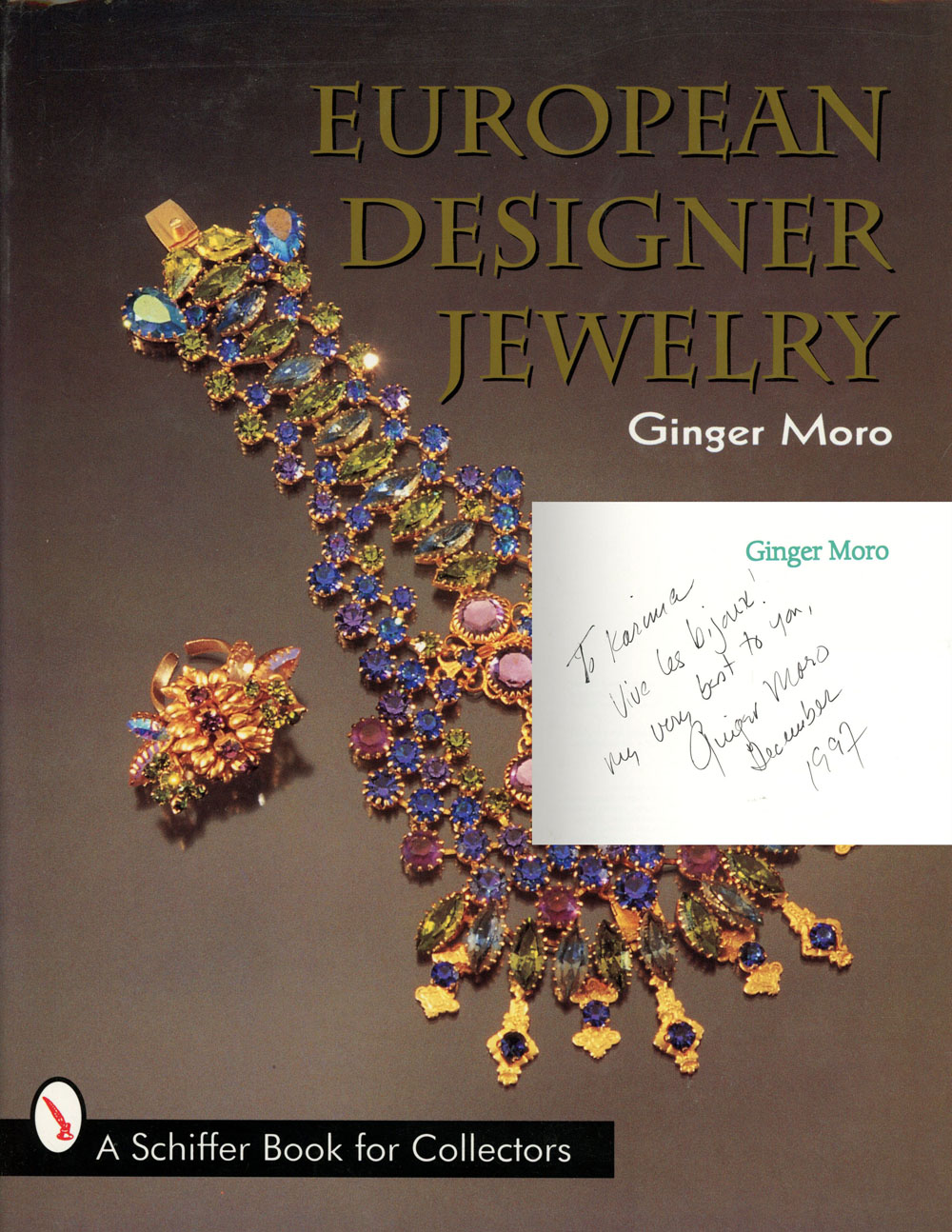 European Designer Jewelry A Schiffer Book for Collectors Ginger