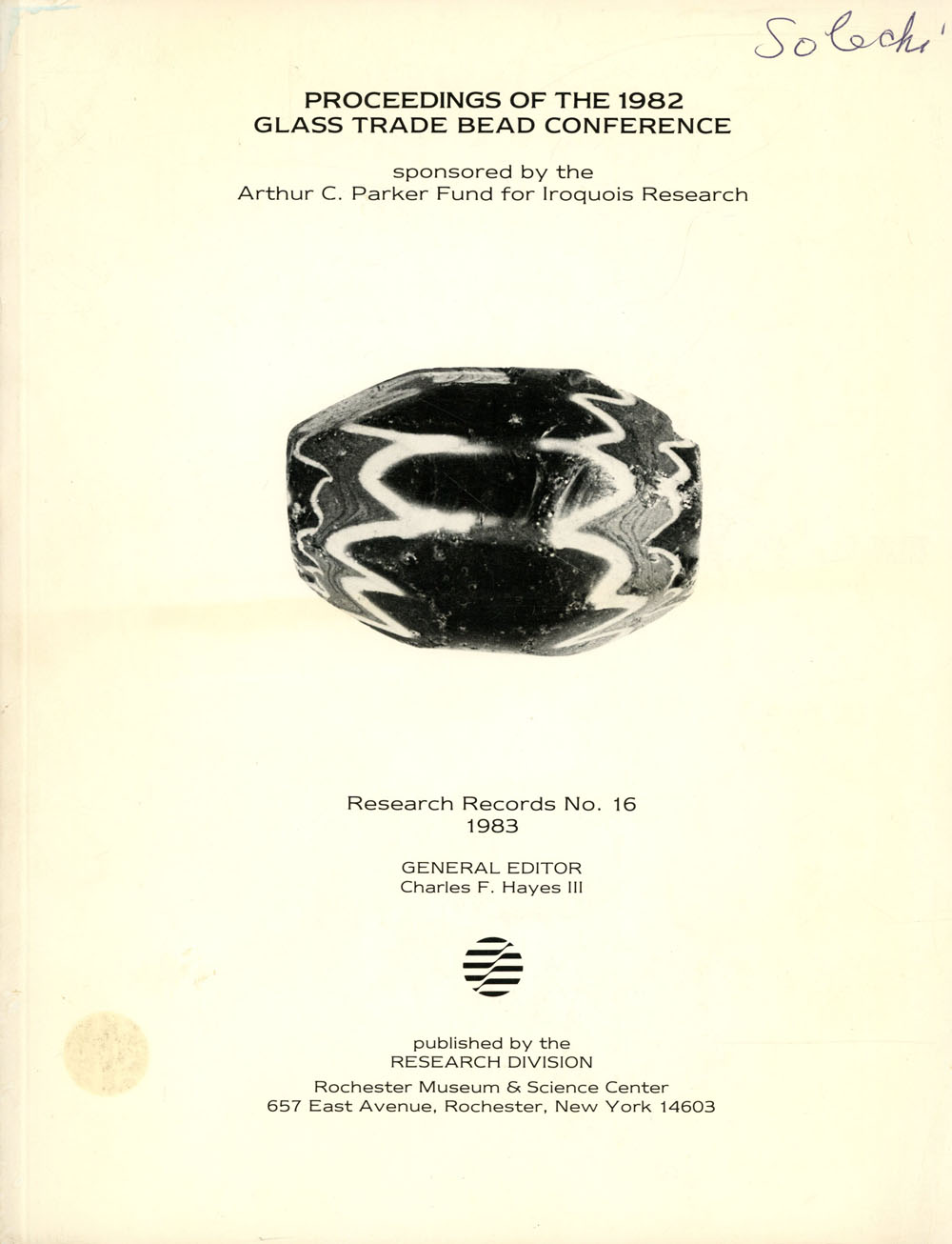proceedings of the 1982 glass trade bead conference research