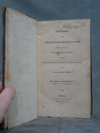 Discourses on the Christian Revolution, viewed in Connexion with the Modern astronomy, together ... of the Princess Charlotte of Wales