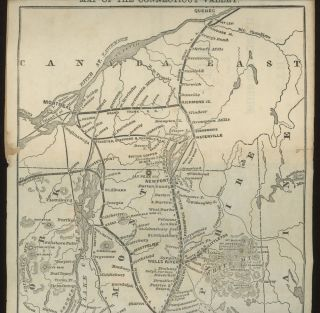 Burt's illustrated Guide of the Connecticut Valley, containing descriptions of Mount Holyoke, Mount Mansfield, White Mountains, Lake Memphremagog, Lake Willoughby, Montreal, Quebec, etc.