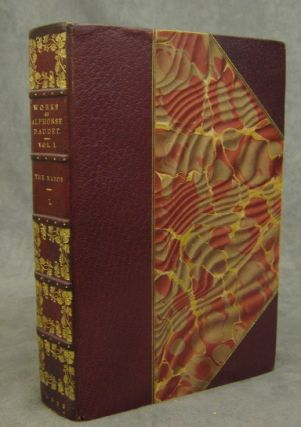 The Works of Alphonse Daudet, Edition de Luxe, complete in 24 volumes. Alphonse Daudet