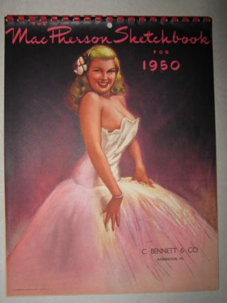 The MacPherson Sketchbook for 1950. Earl MacPherson