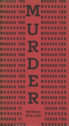 Murder the Murderer: An Excurus on War from 'The Air-Conditioned...