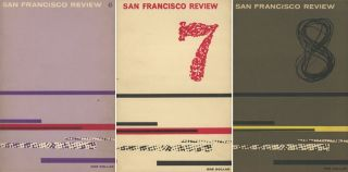 3 issues of The San Francisco Review -- 6, 7, 8