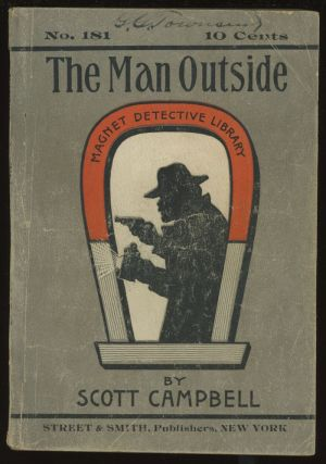 The Man Outside (Magnet Detective Library 181). Scott Campbell, Frederick Davis