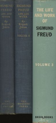 Sigmund Freud: Life and Work, complete in 3 (three) volumes...