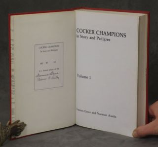 Cocker Champions in Story and Pedigree, complete set in 2 volumes