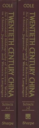 Twentieth (20th) Century China: An Annotated Bibliography of Reference Works...