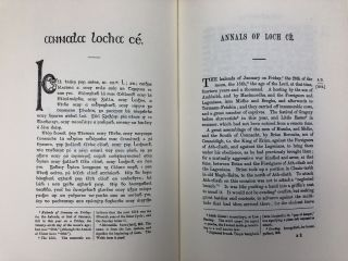 The Annals of Loch Ce: A Chronicle of Irish Affairs from A.D. 1014 to A.D. 1590, complete set in 2 volumes (Rerum Britannicarum Medii Aevi Scriptores (Rolls Series) 54)