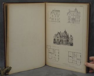 Detail, Cottage and Constructive Architecture containing 75 Large Lithographic Plates...