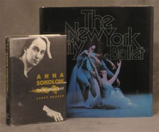 The New York City Ballet -- inscribed to dancer and...