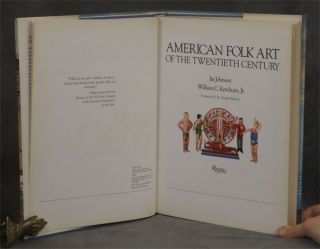 American Folk Art of the Twentieth (20th) Century -- with original drawing by one of the artists, Esther Gyory