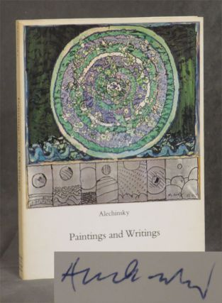 Alechinsky: Paintings and Writings -- inscribed by the artist