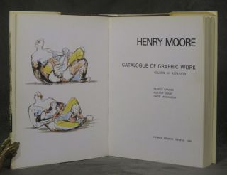 Henry Moore: Catalogue of Graphic Work, Volume III, 1976-1979